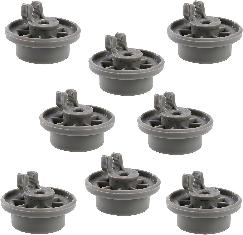 First4spares Set de 8 ruedecillas lavavajillas compatibles con Bosch, Neff y Siemens