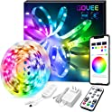 Govee 16.4Ft RGB Light Strips With Remote Control & Bluetooth Music