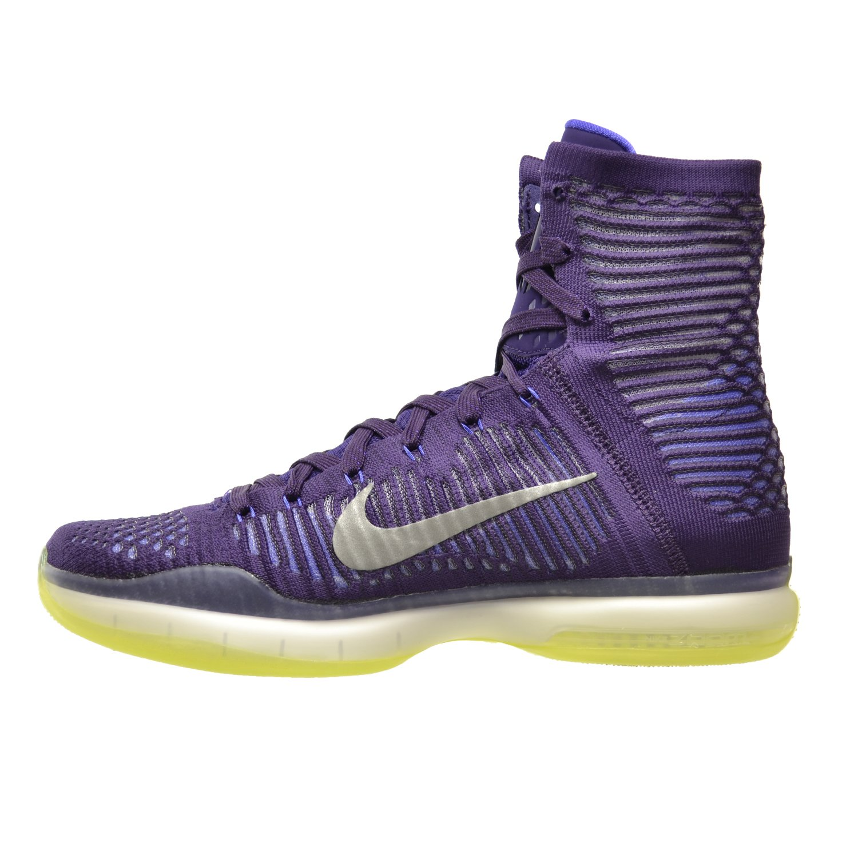 promo code 582fc 99530 Amazon.com   Nike Kobe X Elite Men s Shoes Grand Purple Reflect  Silver-Persian Volt 718763-505 (9.5 D(M) US)   Basketball