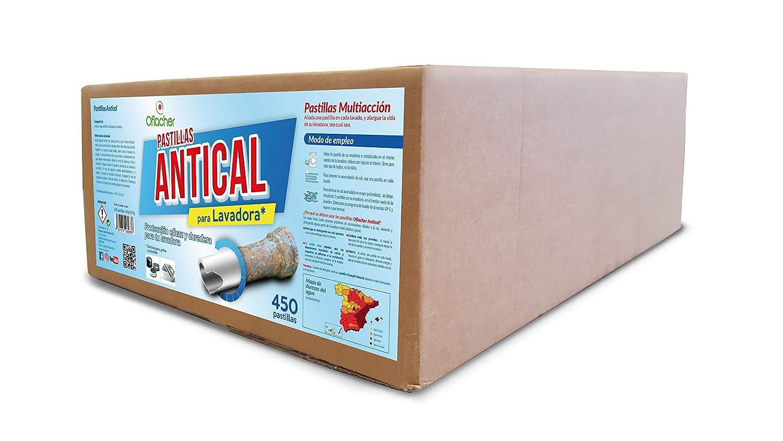 Pastillas lavadora monocapa antical - Caja a granel con 450 ...