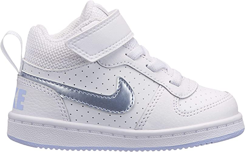 Nike Court Borough Mid (TDV), Zapatillas de Baloncesto Unisex ...