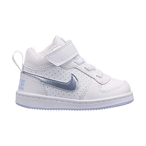 huge discount 6bc0f 4b050 Nike Court Borough Mid (TDV), Scarpe da Basket Unisex-Bambini, Multicolore