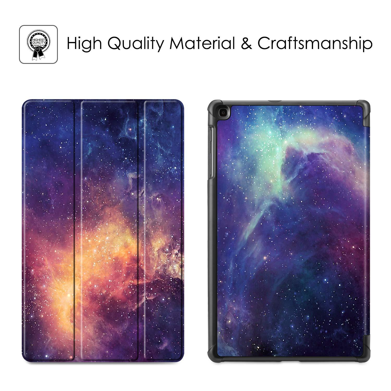 SM-T515 2019 FINTIE Custodia per Samsung Galaxy Tab A 10.1 2019 Ultra Sottile Leggero Cover Protettiva Case per Samsung Galaxy Tab A 10.1 Pollici Modello SM-T510 Starry Sky