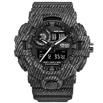 Blisfille Relojes Inteligentes Reloj Digital Oro Hombre Reloj Hombre Numeros Reloj Digital Deportivo Hombre Reloj Hombre Quartz: Amazon.es: Deportes y aire ...