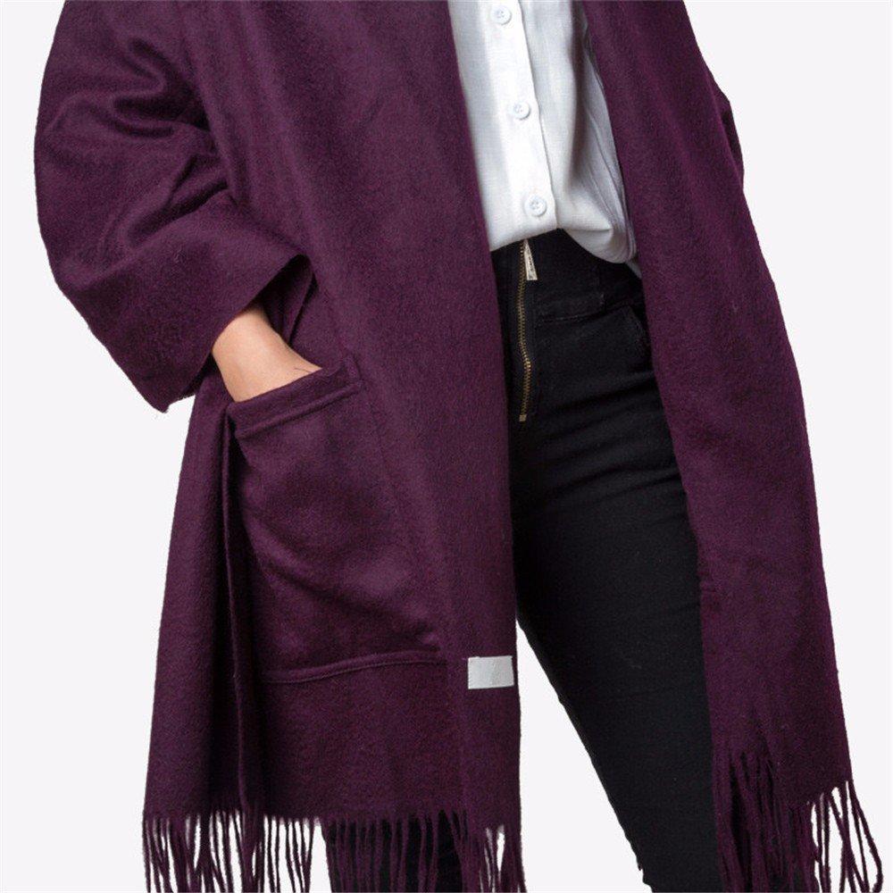 DIDIDD Bufanda de alta calidad de la sala de aire acondicionado chales de lana mantones de estilo eu...