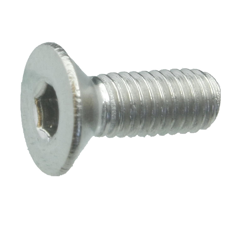 50 Senkkopfschrauben Edelstahl M3 x 8 mm – ISO 10642 / DIN 7991 – Senkschrauben mit Innensechskant und Vollgewinde – Werkstoff A2 (VA / V2A) schrauben-niro.de ®