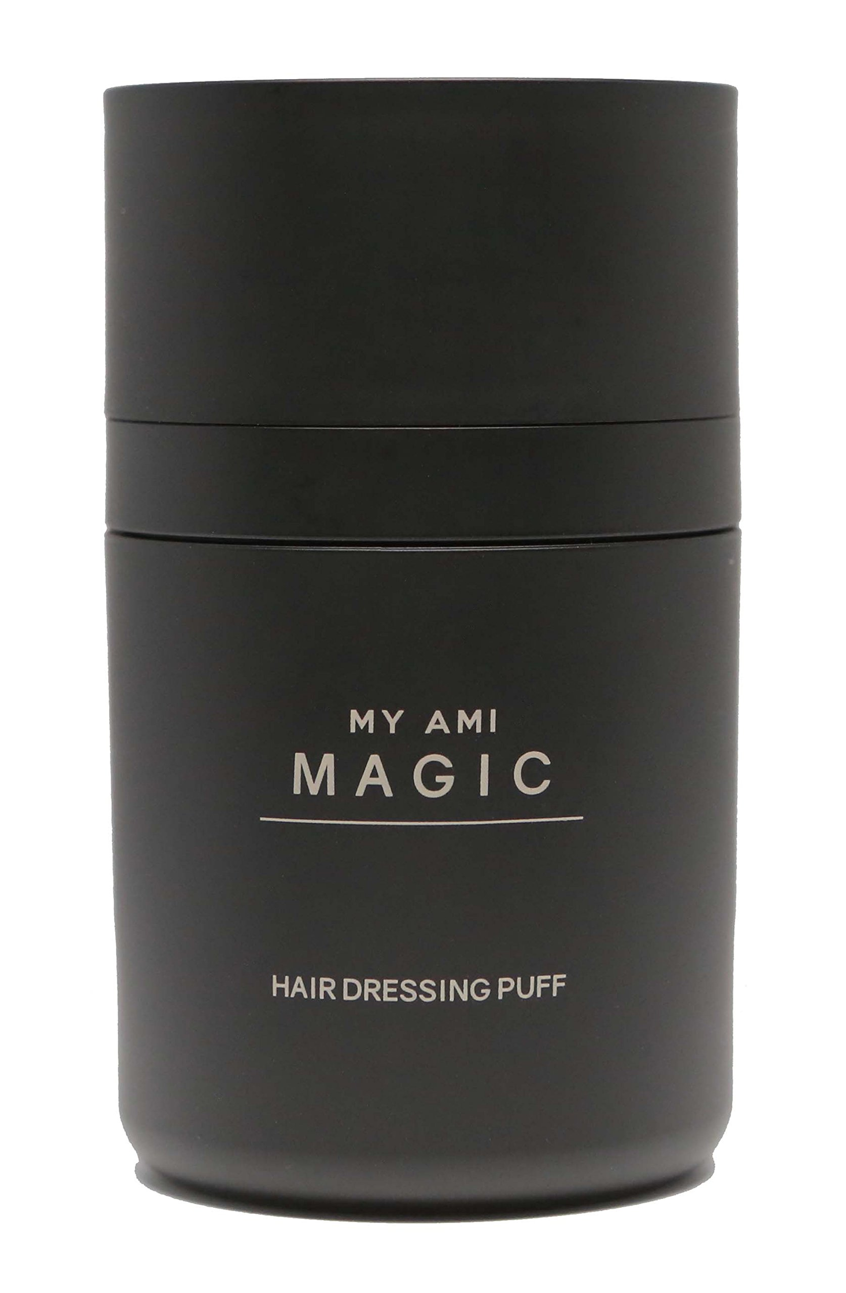 Magic Hair Dressing - Hair building fibers hair loss concealer.NEW on Amazon USA, Best Seller in Korea - Natural Black