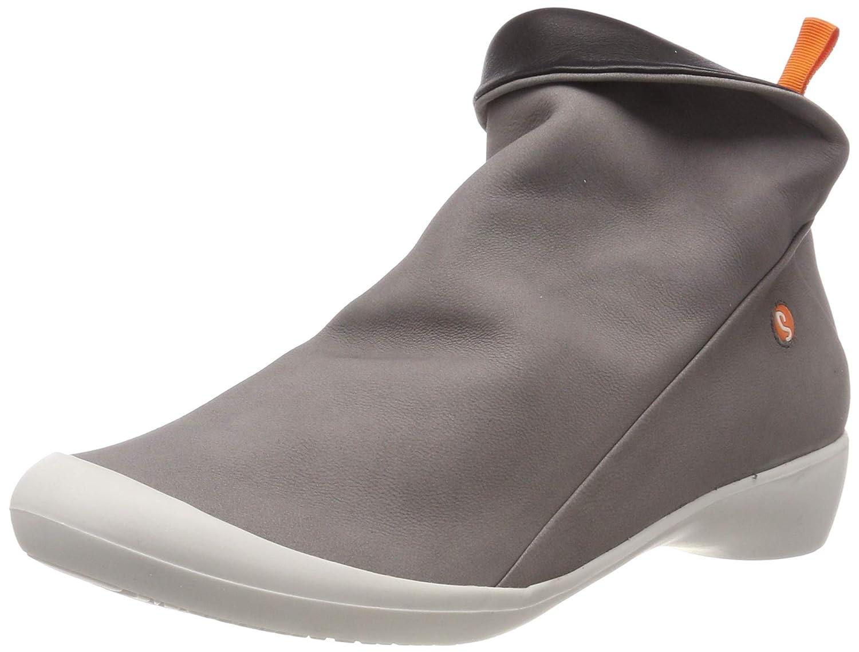 Grau (grau OffWeiß 571) 38 EU Softinos Damen Farah Stiefeletten