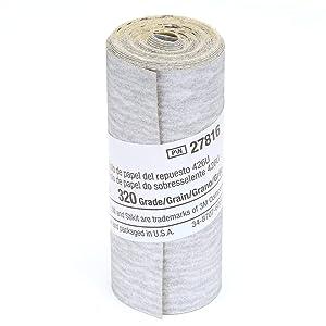 3M Stikit Paper Refill Roll 426U, 2-1/2 in x 100 in 320 A-weight