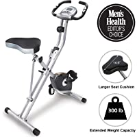 Deals on Exerpeutic Folding Magnetic Upright Exercise Bike with Pulse