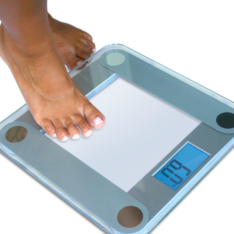 Home Bathroom Scales Amazoncom Eatsmart Precision Digital Bathroom Scale With Extra