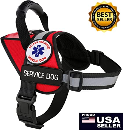 Therapy Dog Harness Vest
