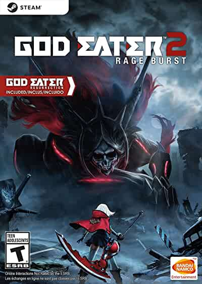 Amazon Com God Eater 2 Rage Burst Online Game Code