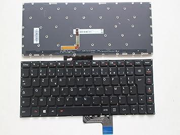 Retroiluminada AZERTY francés teclado para Lenovo Yoga 3 14 ...