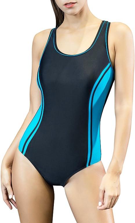 Amazon.com: Uhnice traje de baño de una pieza ...
