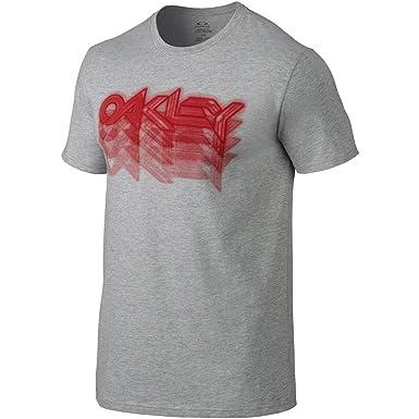 Oakley Hombre Fader 2.0 Camiseta - Gris -: Amazon.es: Ropa y ...