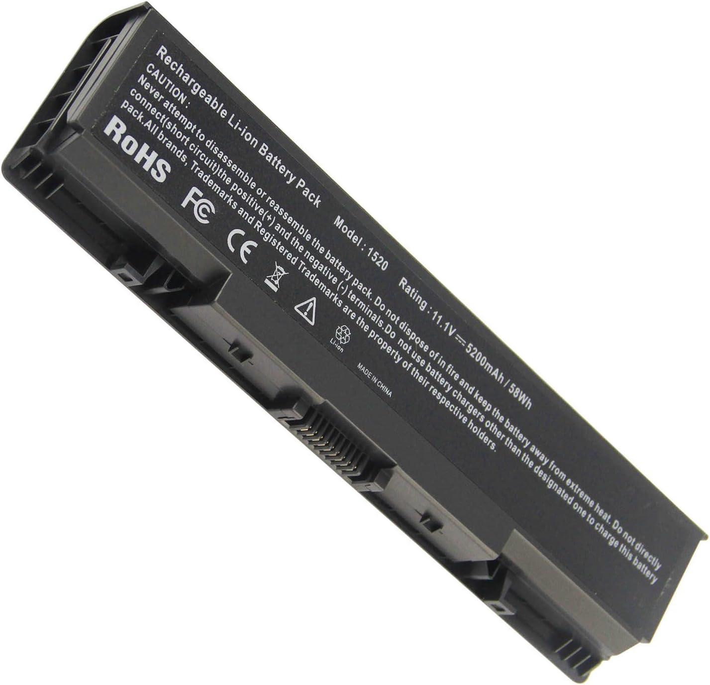 Fancy Buying New Laptop Battery for Dell Inspiron 1521 1520 1721 pp22l pp22x ; Dell Vostro 1500 1700, fits P/N FK890 FP282 GK476 GK479-12 Months Warranty (6 Cells 11.1V 5200mAh)