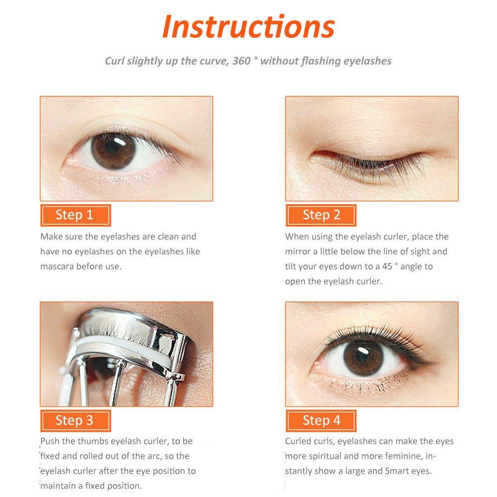 Amazon Eyelash Curler Metal Eyelash Curler Pain Free No