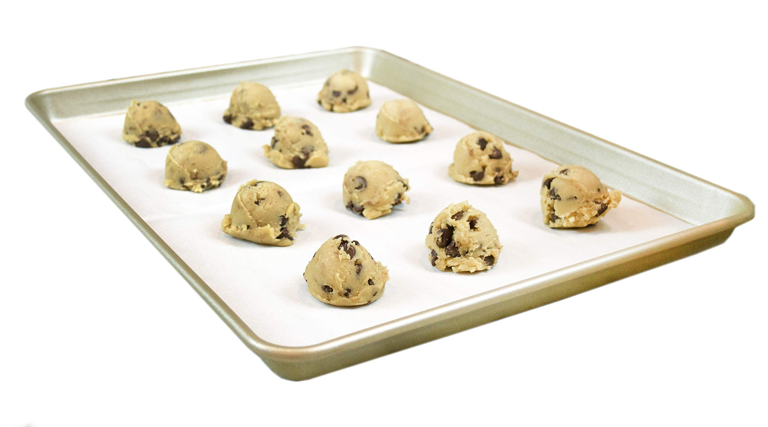 The Smart Baker Half Sheet 13 x 18 inches Perfect Parchment Paper - Pre-Cut Parchment Paper Baking Sheets by The Smart Baker