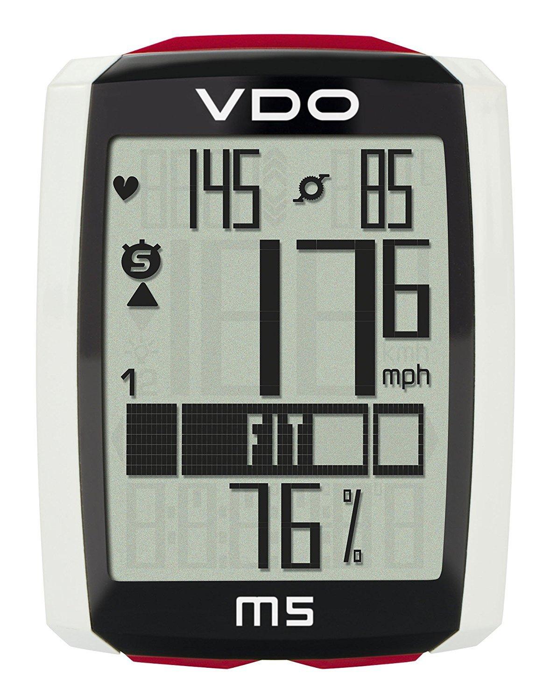 【限定特価】 VDO(バーディオー) M5WL デジタルワイヤレス通信 85905-0099 ドイツブランド M5WL サイクルコンピューター B00OYU0P2A 大画面表示 スピード+時間+距離+温度計+心拍数+カロリー消費+ケイデンス+バックライト機能付 ポルシェやメルセデスのスピードメーターを製造しているメーカーのサイクルコンピューター 85905-0099 B00OYU0P2A, タカハシシ:0c4e8969 --- albertlynchs.com