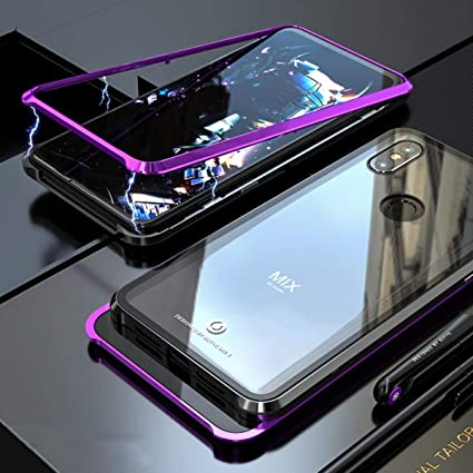 Amazon.com: Magnetic Adsorption Case for Xiaomi Mi Mix 3 ...