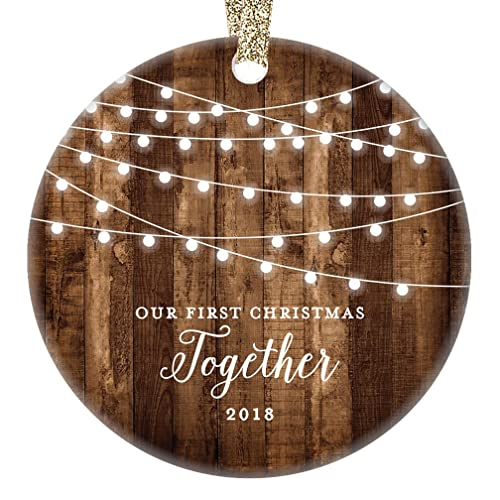 Amazon.com: Our First Christmas Together 2018, Gifts Couple Engaged ...