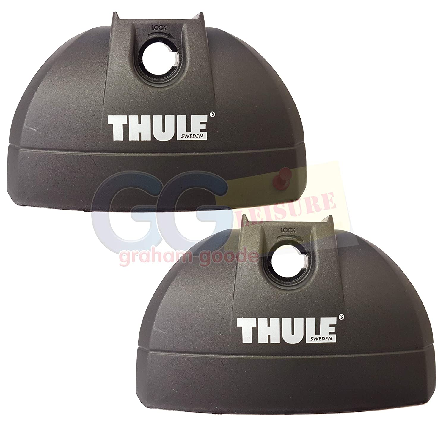 Thule 753 Foot Pack Kit Cover Plate x2 Spare Part 50090Pair