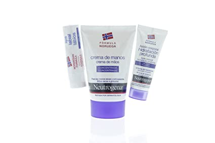 NEUTROGENA PACK Crema Manos 50ML + Stick Labial + Locion 15ML