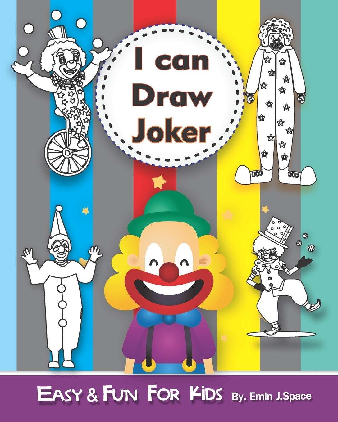Buy I Can Draw Joker Easy And Fun Activity Book For Kids Ages 4 8 Book Online At Low Prices In India I Can Draw Joker Easy And Fun Activity Book For