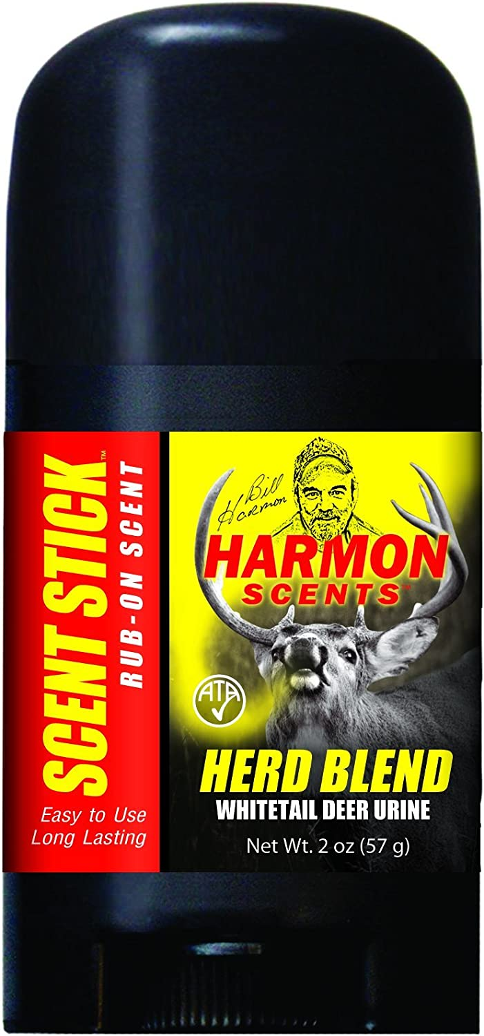 Harmon Scents - Herd Blend - Rub On Scent Stick - HHBWSS - Whitetail Hunting - Deer Hunting Attractant