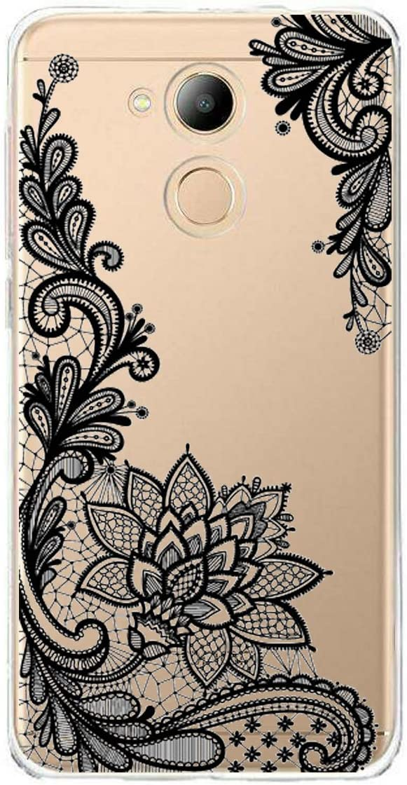 WenJie Ewha Transparent Souple Coque de Protection Etui Silicone TPU Case Shell Housse pour Huawei Honor V9 Play//Huawei Honor 6C Pro 5.2