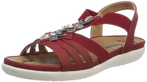 Womens V9571 Closed Toe Sandals, Scala, 4 UK Rieker