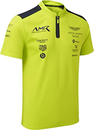 Aston Martin Racing Lime Green Poloshirt