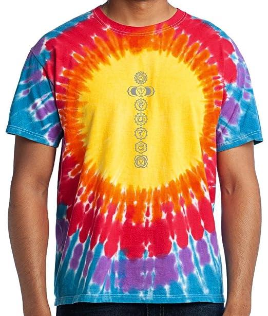Amazon.com: Camiseta para yoga para hombre, 7 chakras ...