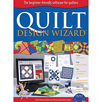 Amazon.com: The Electric Quilt Co. Quilt Design Wizard-: Arts ... : quilt planning software - Adamdwight.com