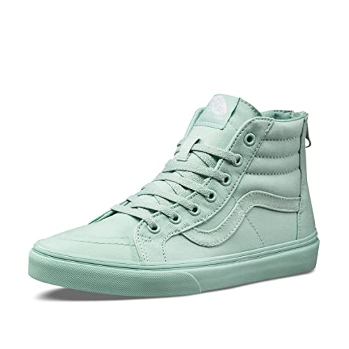 0ba96bb803 Image Unavailable. Image not available for. Color  Vans SK8-Hi Zip Sneakers  Little Girls ...