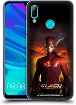 Official The Flash TV Series Barry Stand Pose Poster Soft Gel Case Compatible for Huawei P Smart (2019): Amazon.es: Electrónica