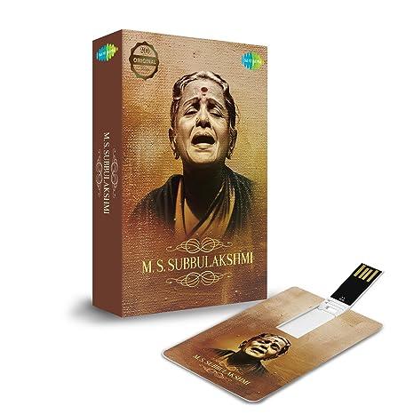 Tarjeta de música: M.S. Subbulakshmi (320 Kbps MP3 Audio ...