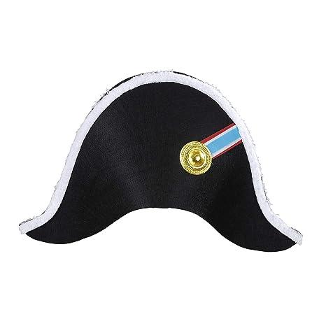 diversifié dans l'emballage dernières tendances Nouveaux produits Widmann 01126 Chapeau de napoléon, pour Adultes, Noir ...