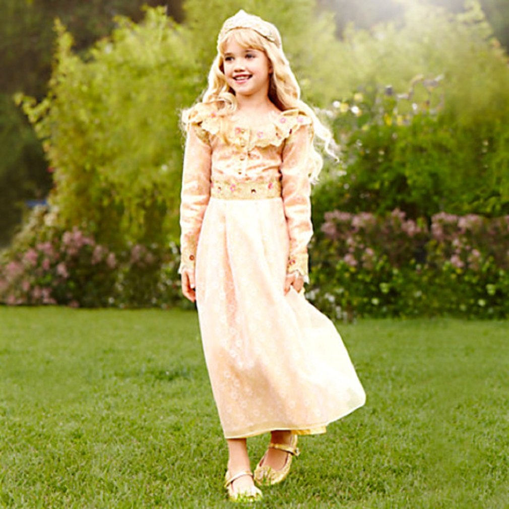 Aurora deluxe girls dress