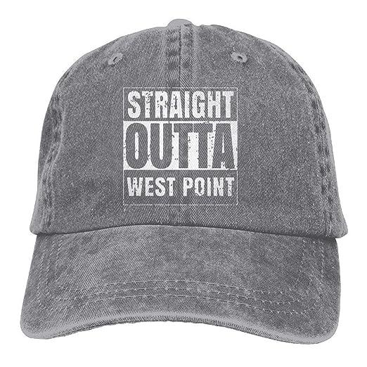 Straight Outta West Point Adult Cotton Denim Cowboy Hat Personalized  Vintage Cap at Amazon Men s Clothing store  86467b9e93b