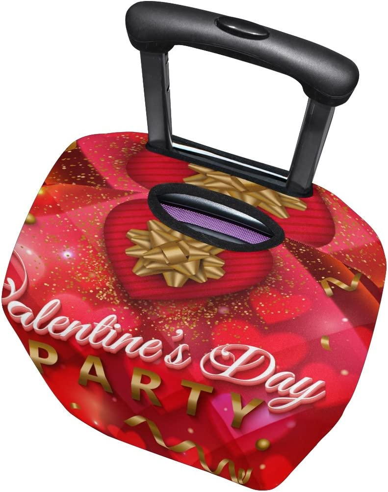 Use4 Valentines Day Party Luggage Suitcase Protective Cover for Travel 31-32 Inch
