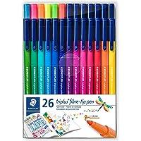 Staedtler 323 Tb26 Triplus Color Üçgen Keçeli Kalem 1.0 Mm 26'lı