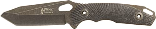 MTECH USA Xtreme MX-8110BK Fixed Blade Knife, 9-Inch