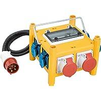 Brennenstuhl 1153660301 - Distribuidor de corriente portátil compacto