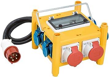 Brennenstuhl Kompakter Stromverteiler Bsv 3 Fi16 Ip44