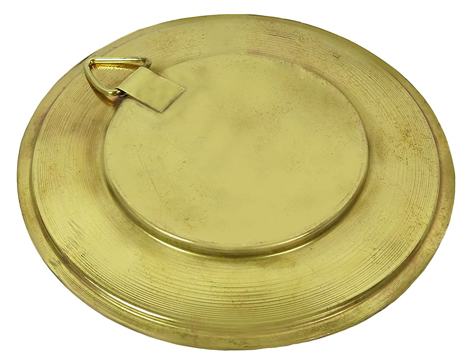 Traditional Indian Brass Gold Tone Wall Hanging Plate With Vajra ...