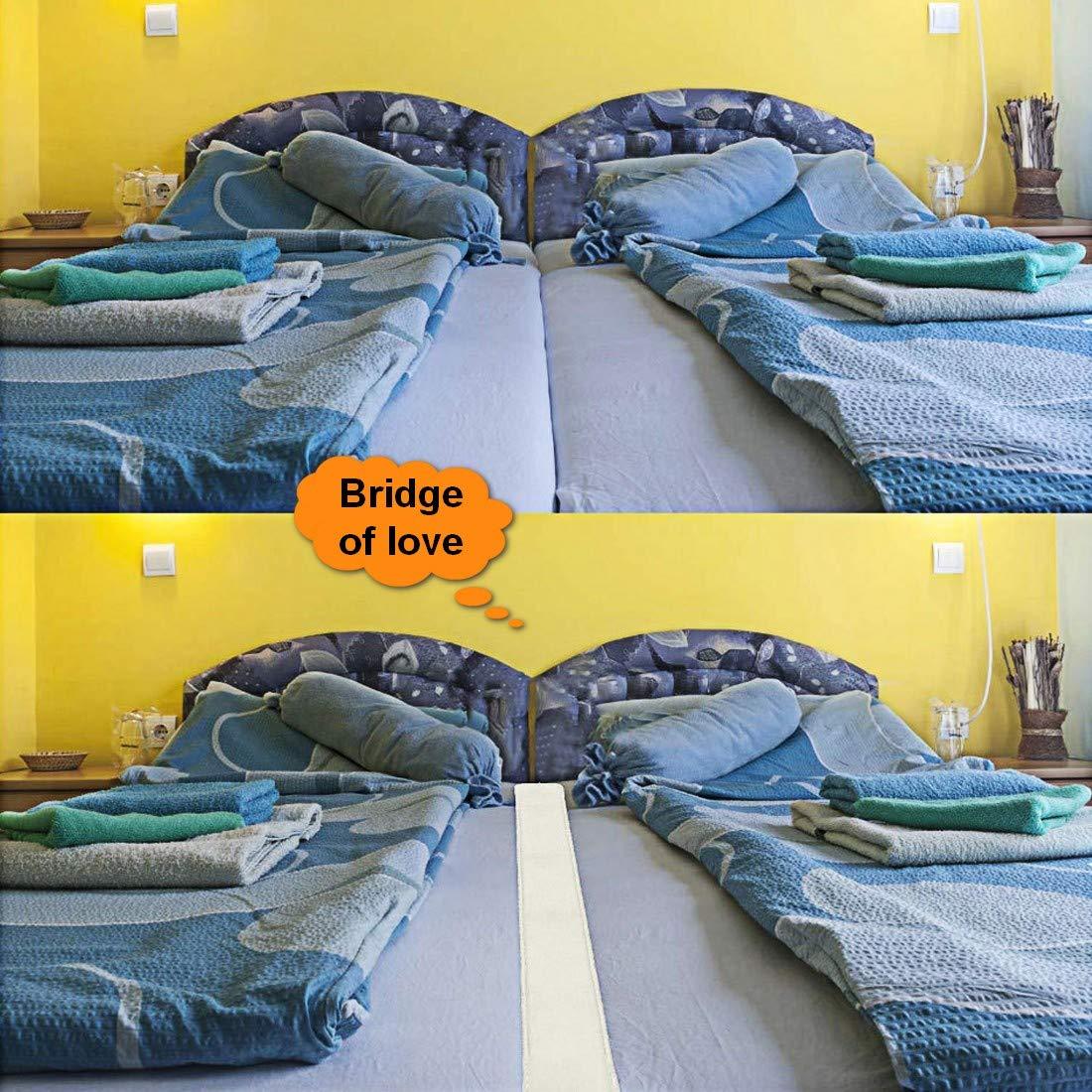 DUTISON Pont de Matelas pour Connecteur de Matelas Double Pont de lit Syst/ème de Sangles pour Matelas