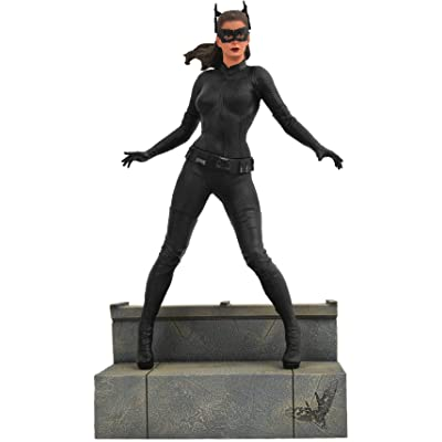 DIAMOND SELECT TOYS DC Gallery: The Dark Knight Rises: Catwoman PVC Figure, Multicolor: Toys & Games [5Bkhe1202896]