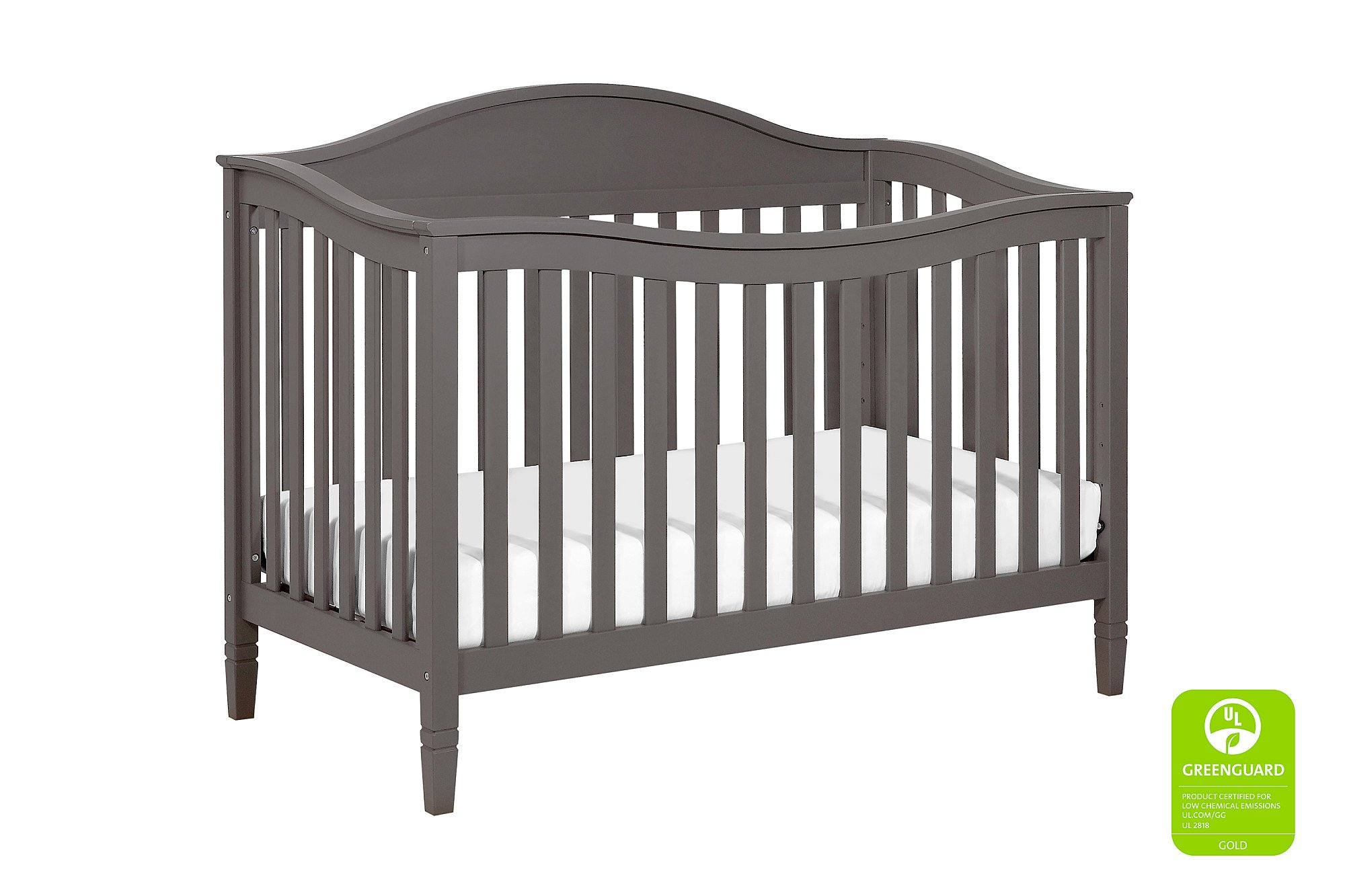 DaVinci Laurel 4-in-1 Crib Full Size Conversion Kit Bed Rails - Slate